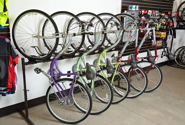 Storage Stand Up Does Your Bike Room Look Like This Interesting Pro Bike Display Stand